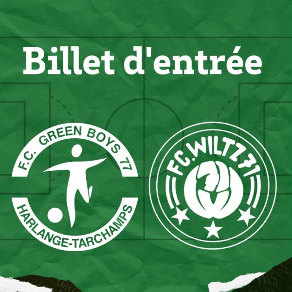 Coupe : Green Boys - FC Wiltz 71 - 18 octobre 2020